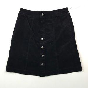 Charter Club Women's Corduroy Skirt 6 C2517